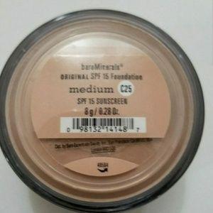 Bare Minerals Makeup - Bare Minerals original SPF 15 foundation C25